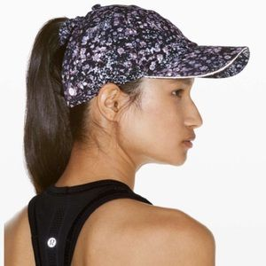 NWT Lululemon Baller Hat Run Ponytail
